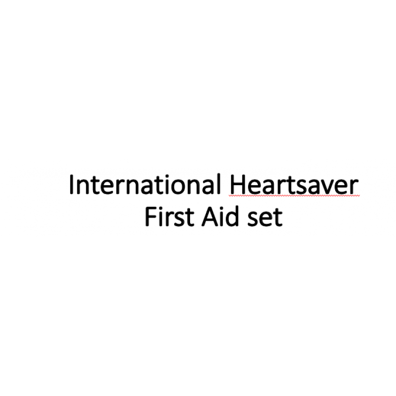 International Heartsaver First Aid Provider eManual and eCard