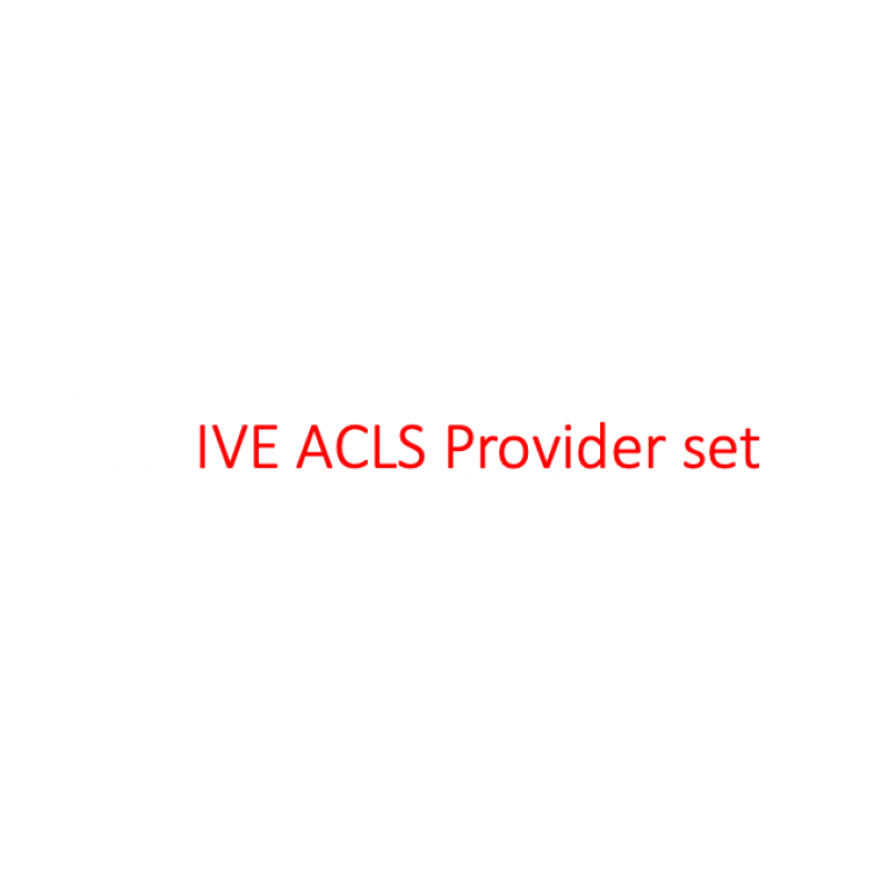 IVE Advanced Cardiovascular Life Support (ACLS)  Provider eManual and eCard