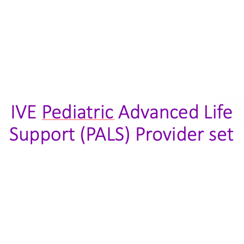IVE Pediatric Advanced Life Support (PALS) Provider eManual and eCard